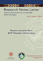 Research Notes Letter 1/2019