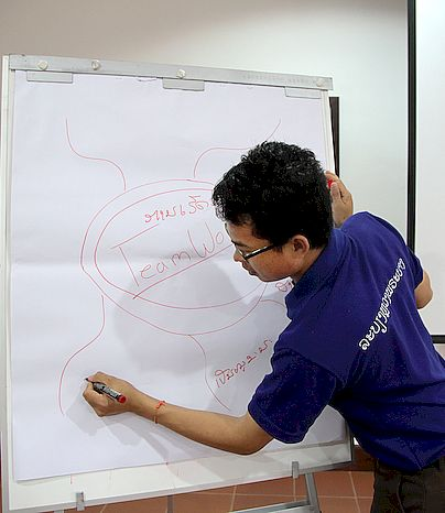 Hospitality skills training in Luang Prabang, Lao PDR. ILO in Asia and the Pacific