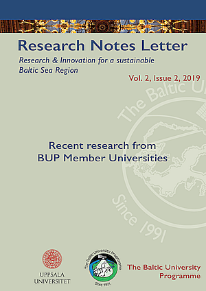 BUP Reserach Notes Letter 2-2019