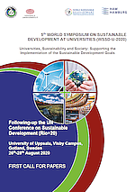 5th World Symposium on Sustainable Development at Universities (WSSD-U-2020)