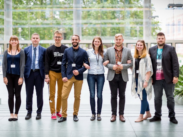 BUP students at the Annual Forum in Berlin