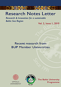 Research Notes Letter 1-2019