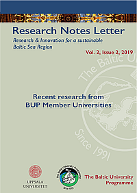 Research Notes Letter 2-2019