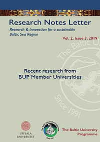 Research Notes Letter 3-2019