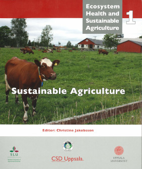 Book cover, Sustainable Agriculture