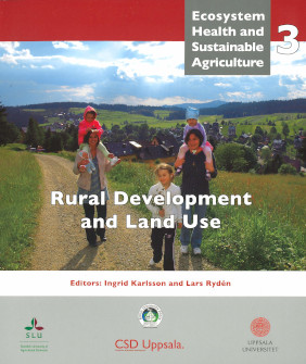 Book cover, Rural Development and Land Use