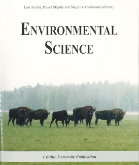 Book cover, Environmental Science
