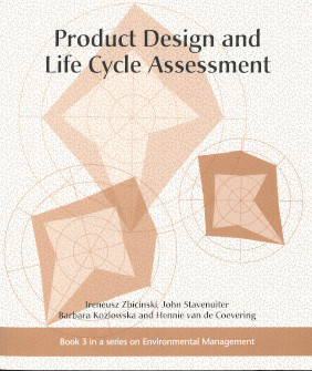 Book cover, Product Design and Life Cycle Assessment