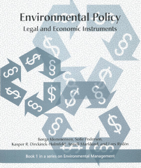 Book cover, Environmental Policy